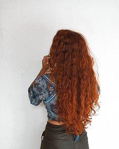 Long Red Hair, Wavy Hair, Dyed Hair, Blonde Hair, Hair Inspo, Hair Inspiration, Red Curls, Chocolate Hair, Ginger Hair