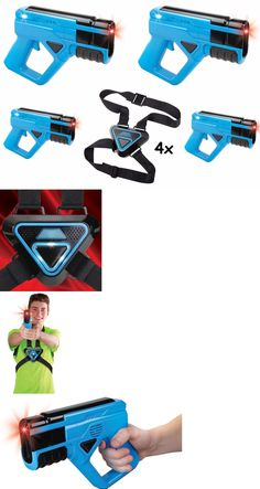 Laser Tag 168245: Kids Laser Tag Mega Pack Of 4 Set Game Electronic Gun Indoor Outdoor Play New -> BUY IT NOW ONLY: $109.99 on eBay!