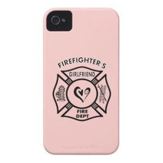 Firefighters Girlfriend iPhone Case