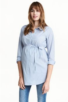 MAMA Cotton tunic Model