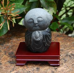 Go Global This Shopping Season: For anyone—the granite Jizo statue is another way to send good vibes to your loved ones. The Japanese divinity guides travelers, helps people make decisions and is thought to answer prayers. $90