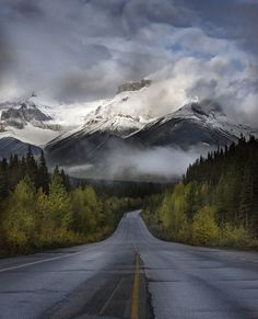 The Road To The Canadian Rockies