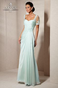 Alyce Paris Mother of the Bride - 29580 Dress in Seabreeze