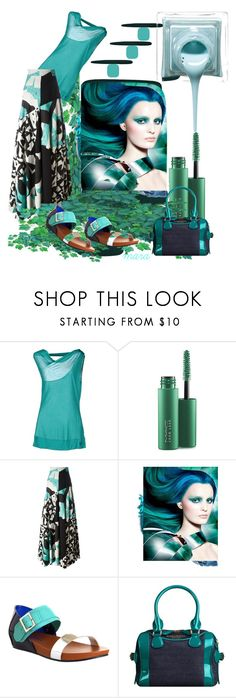 """""""Summertime... and life will be easy.... :-)"""" by marastyle ❤ liked on Polyvore featuring GUESS by Marciano, MAC Cosmetics, Roksanda, Sephora Collection, UN United Nude and Burberry"""
