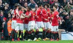 Manchester United celebrated a 4-2 win over their closest rivals at Old Trafford on Sunday...