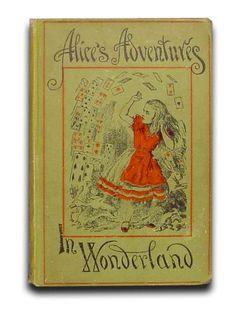 A evolução das capas de Alice no País das Maravilhas, de Lewis Carrol. Ilustrações de John Tenniel