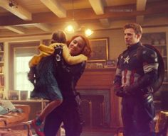 We are Young. — BLACK WIDOW & STEVE ROGERS