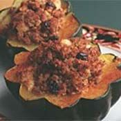 Stuffed Acorn Squash with Apples and Cranberries - Dole Nutrition Institute