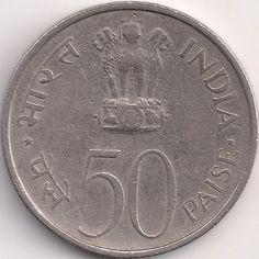 Wertseite: Münze-Asien-Indien-Rupee-0.50-1973