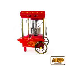 Make enough popcorn for all of your family and friends with our full-sized popcorn popper machine. Features an old timely look, but is fully functioning to 'pop' out popcorn for the entire family!    Answer fun questions and you could win in the Cracker Barrel Old Country Store Pick it to Win it Sweepstakes. Start 'picking' your answers at crackerbarrel.com/win (ends Jan 2, 2013).