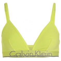 c68662d01f940 Calvin Klein Women ID Unlined Triangle Bra Pale Dawn