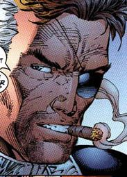 """Nick Fury from the X-Men and WildCATS cross over """"Silver Age"""" (Jim Lee)"""