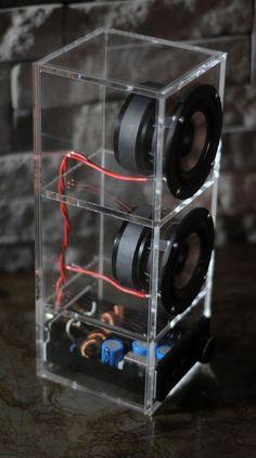 Groovy Wireless Speakers Home Diy Bluetooth Speaker, Diy Speakers, Diy Electronics, Electronics Projects, Diy Boombox, Car Audio Systems, Sound Speaker, Speaker Design, Hifi Audio