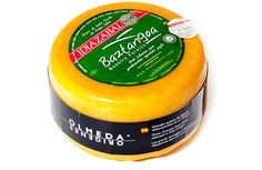 Smoked Idiazábal Cheese Olmeda Origenes from Arizkun Navarra. Made from the Latxa sheep's milk, it is straw-coloured with an intense but mild aroma. The flavour of our Smoked Idiazabal Cheese is profound, wide and full with a touch of herbs and pasture with an aftertaste reminiscent of hay. Origin: Arizkum, Valle de Baztán, Navarra. Curing period: 5 months minimum. Queso Idiazabal ahumado Olmeda Origenes de Navarra . #OlmedaOirgenes #cheese #artisan #bestspanishfood #Spain