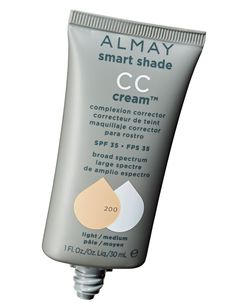 """Almay Smart Shade CC Cream Complexion Corrector SPF 35, $9.99Think of a CC as a BB on steroids: It has a little more coverage, and this one helps fade dark spots. """"The cream looks and feels like a terrific foundation, and goes on so smoothly,"""" said Reiss-Andersen. Gohara praised """"the excellent skin brighteners like mulberry and licorice extracts."""" Sam Kaplan  - Redbook.com"""