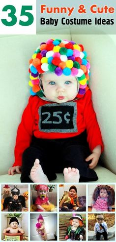 Funny & Cute Baby Costume Ideas