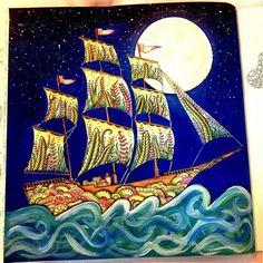 #mulpix Pra fechar a noite, vamos com essa perfeição de colorido ( @sheylabrazs ) - Largar desse cais, ir sem direção e seguir os ventos que clamam por mim... ____________________________  Mande seu colorido pra gente pelo Direct, pela hashtag #forumdacriatividade ou nos marque pelo @forum_da_criatividade ~~~~~~~~~~~~~~~~~~~ Comente o que acharam, curtam se gostarem e marque seus amigos  ~~~~~~~~~~~~~~~~~~~~  #jardimsecreto #oceanoperdido #florestaencantada #love #colorir #amocolorir…