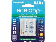 #NewEgg: 4-Pack Panasonic Eneloop AAA Ni-MH Pre-Charged Rechargeable Batteries (BK-4MCCA4BA) for $6.99 AC  Free... #LavaHot http://www.lavahotdeals.com/us/cheap/4-pack-panasonic-eneloop-aaa-ni-mh-pre/57657