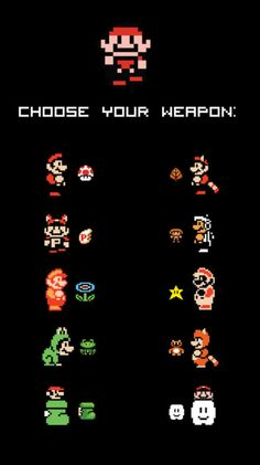 Mario: Choose Your Weapon