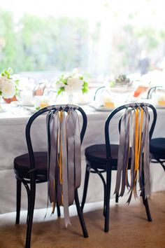 ribbons for chairs