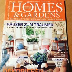 Homes & Gardens Germany - Marz/April 2017 Pdf Magazines, Outdoor Living, Germany, Home And Garden, Gardens, Homes, Instagram, Amp, Home Decor