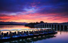 Summer Sunset by Haiwei Hu on 500px