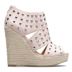 #wedge #cream #studs
