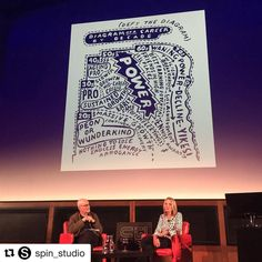 'Defy the career staircase' #UNITLive #paulascher . . . #Repost @spin_studio  Paula in the room!