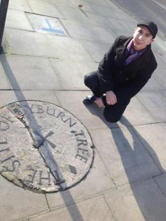 Marc Almond at the Tyburn Tree site