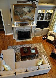 Gray Family Room (via Isabella and Max Rooms)