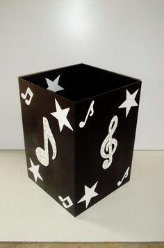 Caixa de Notas Musicais pra presente