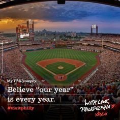"My Phillyosophy: Believe ""our year"" is every year. With Love, Philadelphia XOXO #VisitPhilly #VisitTheUSA #travel"