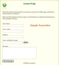 PHP contact form: Code for dreamweaver