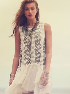 Free People Showroom Geo Dropwaist at Free People Clothing Boutique