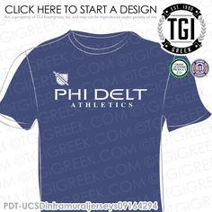 Phi Delta Theta | Phi Delt | ΦΔΘ | Intramural | Athletics | Brotherhood | Greek Life | Intramural Tee | Intramural Jersey | TGI Greek | Greek Apparel | Custom Apparel | Fraternity Tee Shirts | Fraternity Tanks | Fraternity T-shirts