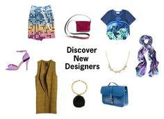 """Discover New Designers and New Brands"" by wolfandbadger ❤ liked on Polyvore featuring Dahui Li, Amanda Marcucci, Merci Me London, RachelAlex, Abel Muñoz, N'Damus, Tamara Tobias and Anna Byers"