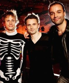 Dom, Matt and Chris #MUSE
