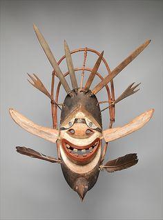 Dance Mask, early 20th century, Yup'ik, Alaska