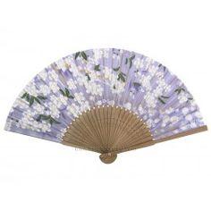 Eventail japonais fleurs de cerisier