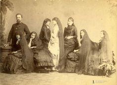 long haired women