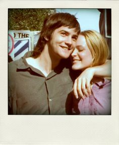 "Jim Sturgess & Evan Rachel Wood - ""Across the Universe"" / backstage polaroid Evan Rachel Wood, Across The Universe, Movies Showing, Movies And Tv Shows, Jim Sturgess, Polaroid, About Time Movie, Film Music Books, The Breakfast Club"