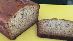 Sour cream guarantees a moist and tender loaf. And bananas are sliced instead of mashed in this recipe, giving a concentrated banana taste in every bite. Janet's Rich Banana Bread Recipe, Banana Bread Recipe Allrecipes, Oatmeal Banana Bread, Moist Banana Bread, Banana Bread Recipes, Perfect Pound Cake Recipe, Pound Cake Recipes, Cupcake Recipes, Sweet Recipes
