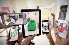 Virtuelle IKEA Möbel - Laden Sie den neuen IKEA Katalog App  - http://wohnideenn.de/gadgets/12/ikea-mobel-ikea-katalog-app.html #Gadgets