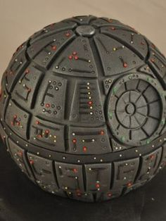 Top Star Wars Cakes: Yoda, Darth Vader, R2D2, Chewbacca, an Ewok, even this Death Star Cake. Cakes with Force, yo.