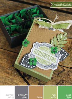 Kreativersum, Verpackung, Pralinenschachtel, Geburtstag