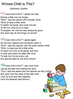Adorable and yet so true. poem for a teacher Preschool Teacher Appreciation, Teacher Poems, Mom Poems, Kids Poems, Poems For Teachers, Teacher Gifts, Teacher Prayer, Teacher Sayings, Preschool Graduation Speech