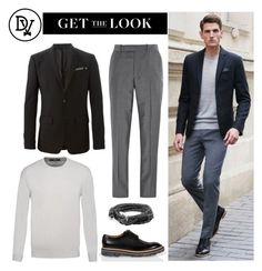 """""""Walking Around"""" by dappervigilante ❤ liked on Polyvore featuring Alexander McQueen, Givenchy, Dondup and Paul Smith"""