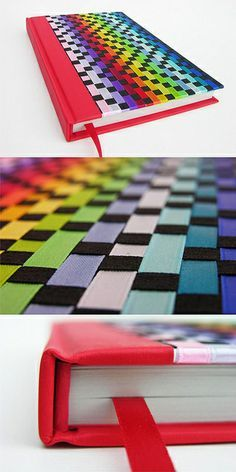 Muita cor e uma boa utilização das fitas