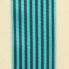 Blue and Black Striped Satin Craft Ribbon 15 x 108 Yards >>> Want additional info? Click on the image.