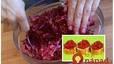 Neporovnateľná cviklová pomazánka s cesnakom – najchutnejší recept pod slnkom: Keď príde návšteva, robí sa v tej najväčšej mise! Cabbage, Cooking Recipes, Beef, Vegetables, Meat, Food Recipes, Veggie Food, Cabbages, Ox
